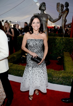 Julia Louis Dreyfus de Monique Lhuillier