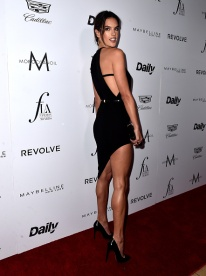 """WEST HOLLYWOOD, CA - MARCH 20: Model Alessandra Ambrosio attends the Daily Front Row """"Fashion Los Angeles Awards"""" at Sunset Tower Hotel on March 20, 2016 in West Hollywood, California. (Photo by Alberto E. Rodriguez/Pret-a-Reporter/Getty Images)"""