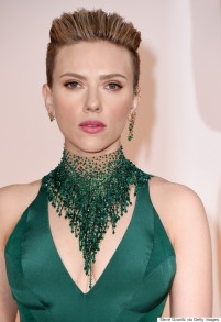 HOLLYWOOD, CA - FEBRUARY 22: Actress Scarlett Johansson attends the 87th Annual Academy Awards at Hollywood & Highland Center on February 22, 2015 in Hollywood, California. (Photo by Steve Granitz/WireImage)