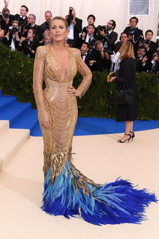 Blake Lively de Versace