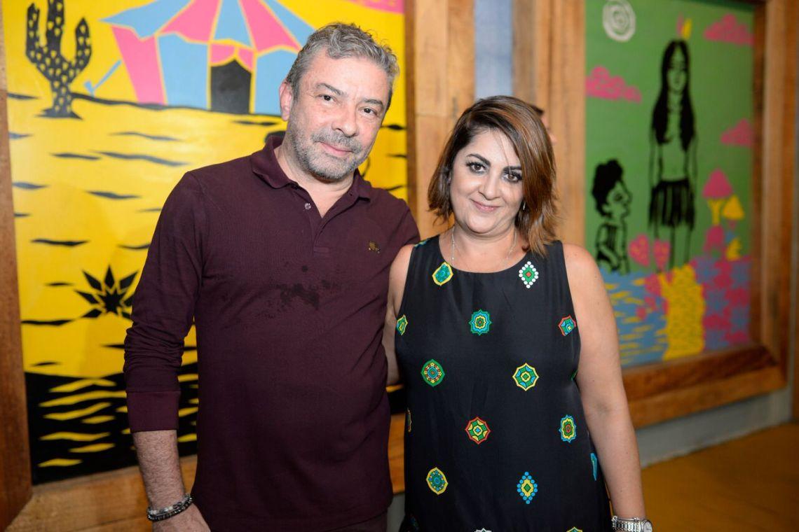 Claudio Silveira e Helena Silveira