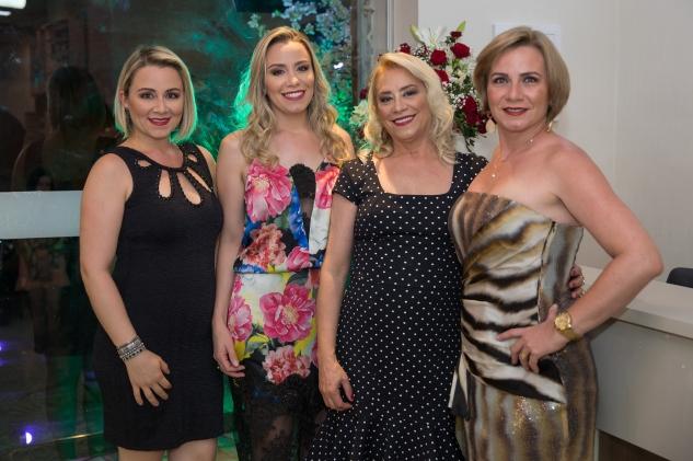 As empresárias Raquel, Raiany Giselda e Valéria Herculano
