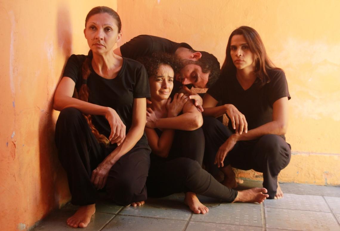 KÁTIA CAMILA,TATIANE ALBUQUERQUE, AURÉLIO BARROS E MÁRCIA RIBEIRO