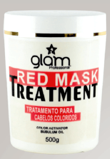 GLam Professional Red Mask 500 Gramas