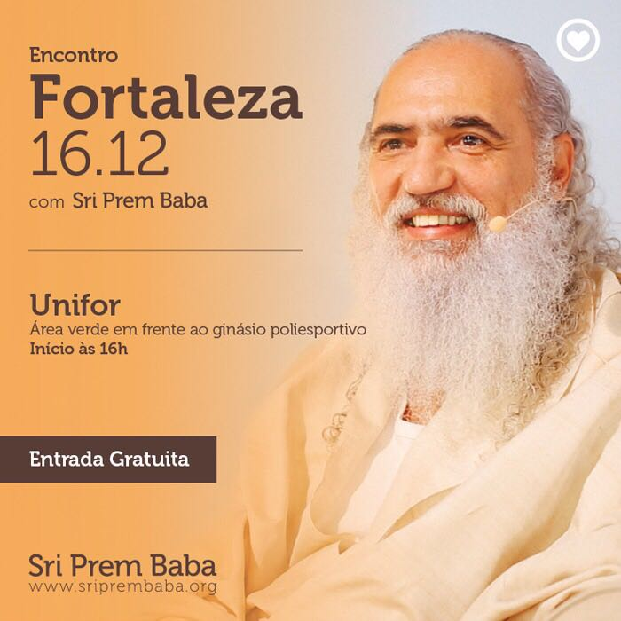 Palestra_Prem Baba em Fprtaleza