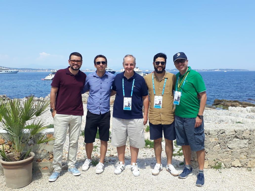 Foto 2 - Pádua Sampaio, Marcel Pinheiro, Marcelo Parada, André Miyasaki e Edson Giusti