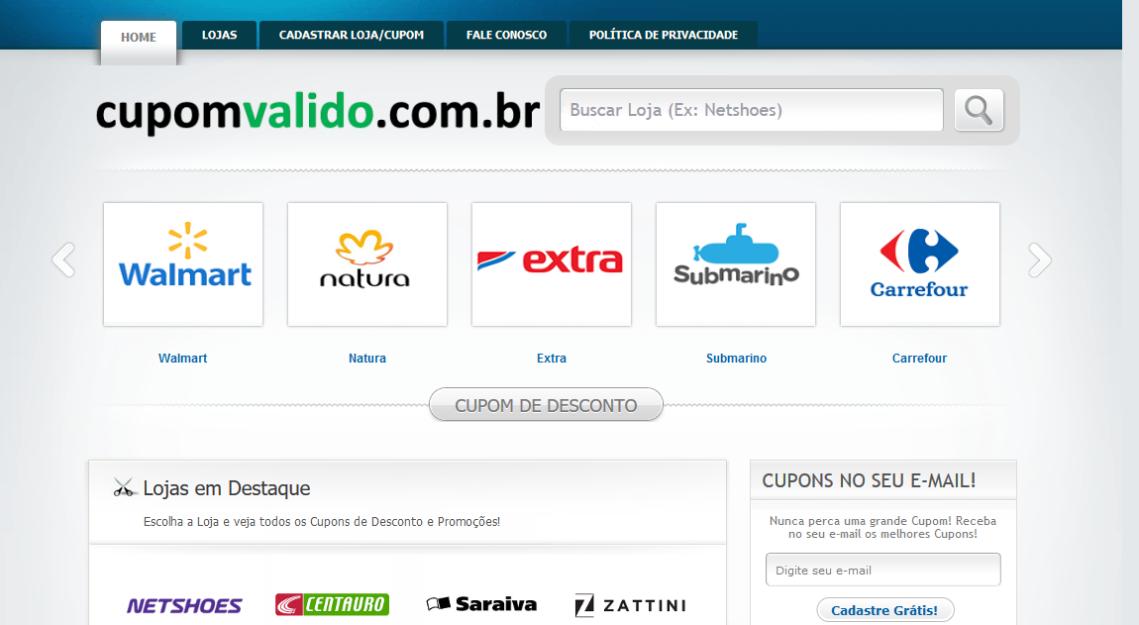 Screenshot-2018-7-4 Cupom de Desconto Grátis - CupomValido com br