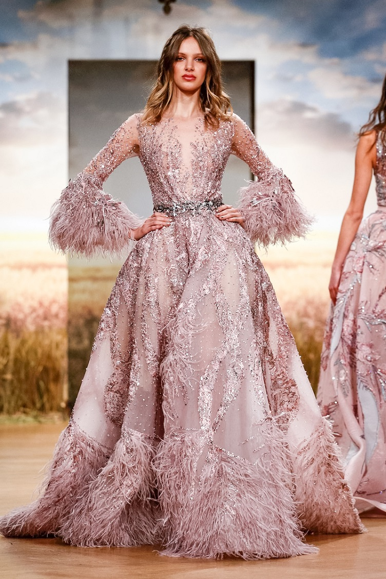 Ziad Nakad Fashion Show, Couture Collection Spring Summer 2018 in Paris
