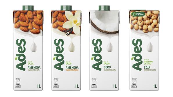 Novos produtos da marca AdeS chegam ao mercado