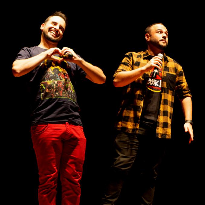Marcos e Edson - Foto Adi Ribeiro