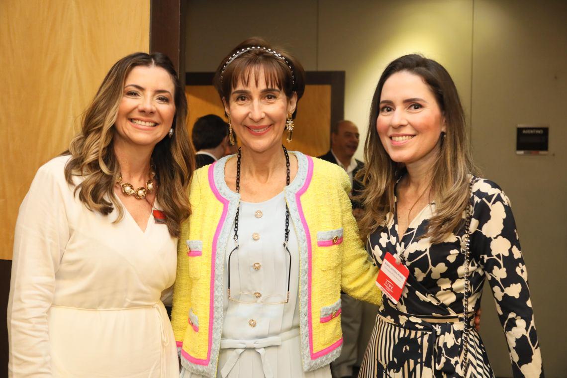 Emília Buarque, Viviane Senna e Águeda Muniz
