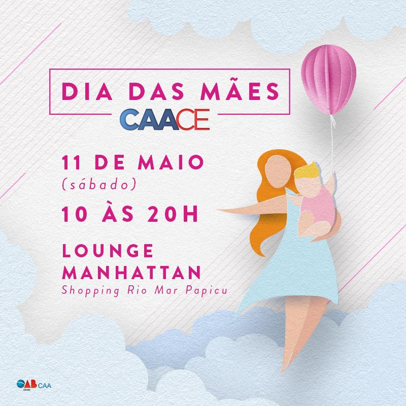 Arte do Dia das Mães CAACE