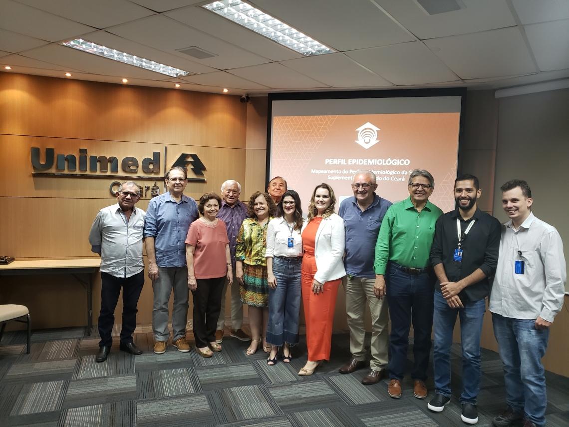 Pesquisadores da Unifor visitam Unimed Ceará