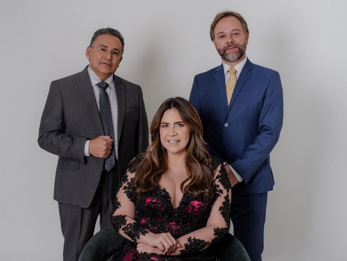 Balreis, Joyce Gomes e Ricardo Kruse