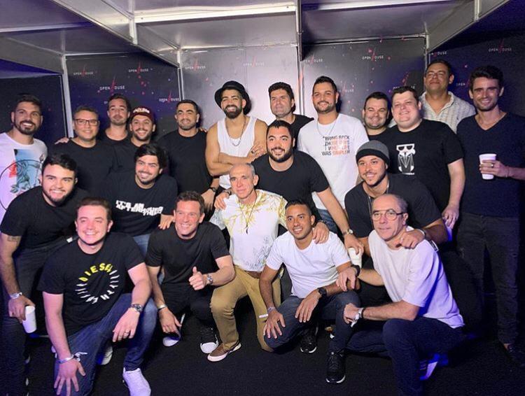 Dilsinho e socios da Work Show NE