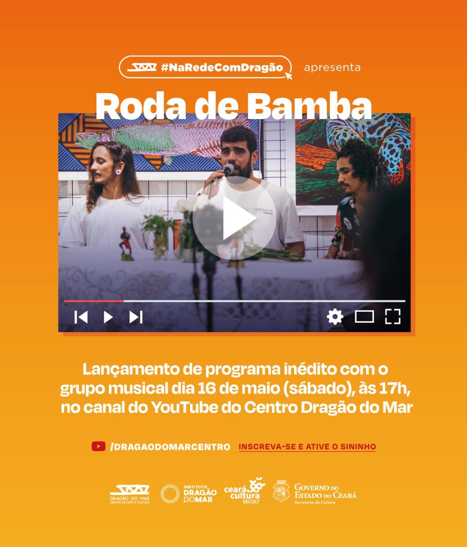 Flyer Roda de Bamba