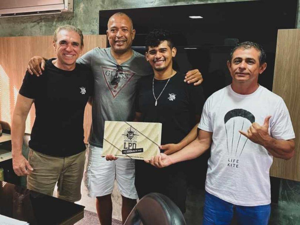 Douglas Santos, Junior Pipoca, Bebê e Claudinho do LPD